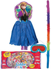 Pull String Anna Pinata Kit - Frozen