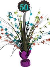 Celebrate 50th Birthday Spray Centerpiece