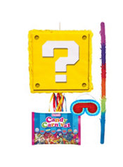 Question Block Pinata Kit - Super Mario
