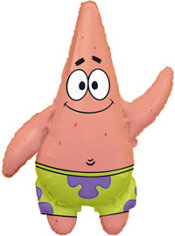 Foil Patrick Balloon 26in
