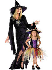 Magical Witch Mommy And Me Costumes