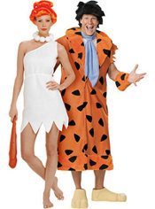 Wilma Flintstone and Fred Flintstone Couples Costumes