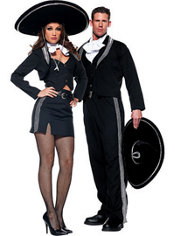 Senorita Mariachi and Mariachi Couples Costumes