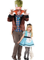 Alice in Wonderland Daddy and Me Costumes