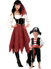 Pint Size Pirate And Pirate Maiden Mommy And Me Costumes