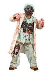 Boys Zombie Doctor Costume