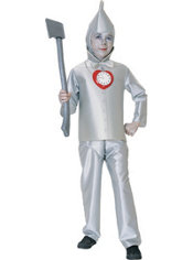 Boys Tin Man Costume - Wizard of Oz