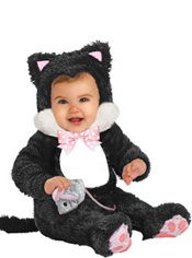 Baby Inky Black Kitty Costume