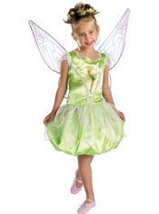 Girls Tinker Bell Costume Deluxe