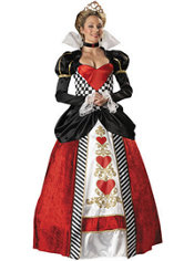 Adult Queen of Hearts Costume Elite