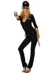Adult Sexy FBI Agent Costume