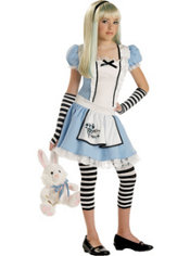 Girls Alice in Wonderland Costume