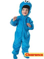 Toddler Boys Cookie Monster Costume Deluxe - Sesame Street