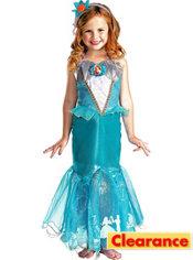 Girls Ariel Costume Prestige - The Little Mermaid