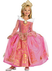 Girls Aurora Costume Prestige
