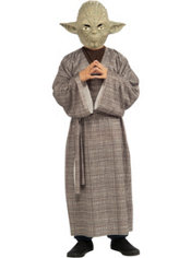 Boys Yoda Costume Deluxe - Star Wars