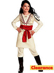 Girls Princess Tamina Costume - Prince of Persia