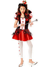 Teen Girls Queen of Hearts Costume