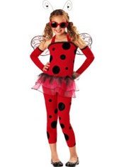 Girls Love Bug Ladybug Costume