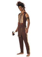 Adult Native American Warrior Costume
