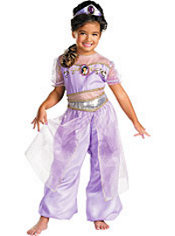 Girls Jasmine Costume Deluxe