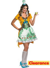 Adult Sassy Mad Hatter Costume - Disney's Alice in Wonderland