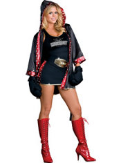 Adult TKO Knockout Sexy Boxer Costume