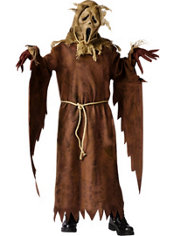 Boys Scarecrow Ghost Face Costume - Scream