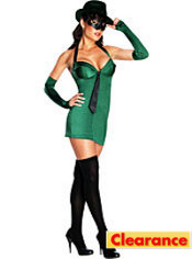 Adult Sexy Green Hornet Costume
