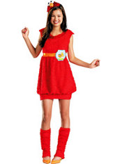Girls Elmo Costume - Sesame Street