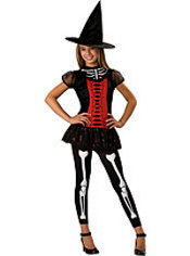 Girls Lucky Witchbone Witch Costume