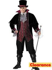 Adult Vampire of Versailles Costume Plus Size Elite