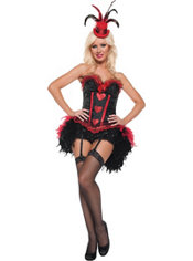 Adult Moulin Rouge Costume