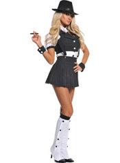 Adult Miss Mob Costume