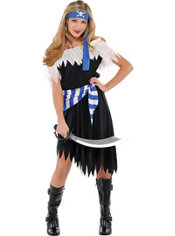 Teen Girls Shipwrecked Cutie Pirate Costume