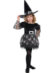 Toddler Girls Darling Witch Costume