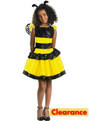 Girls Razzle Dazzle Bee Costume