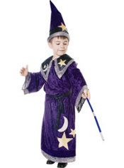 Toddler Boys Magic Wizard Costume