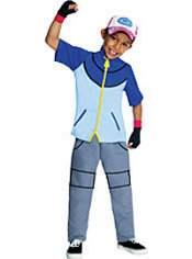 Boys Pokemon Ash Costume