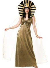Adult Cleopatra Gold Costume