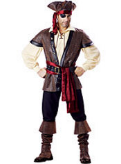 Adult Rustic Pirate Costume Elite