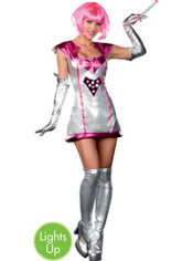 Adult Lust In Space Light-Up Astronaut Costume