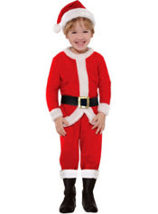 Toddler Boys Santa Suit