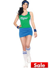Adult Sexy Dallas Mavericks Costume