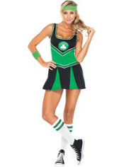 Adult Boston Celtics Cheerleader Costume