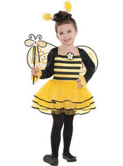 Girls Ballerina Bee Costume