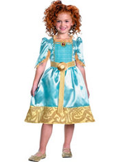 Girls Merida Costume - Brave