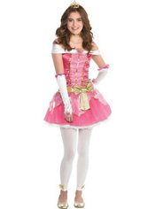 Teen Girls Aurora Sleeping Beauty Costume
