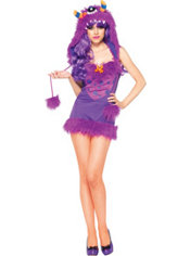 Adult Looney Luna Monster Costume