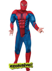 Adult Spider-Man Muscle Costume